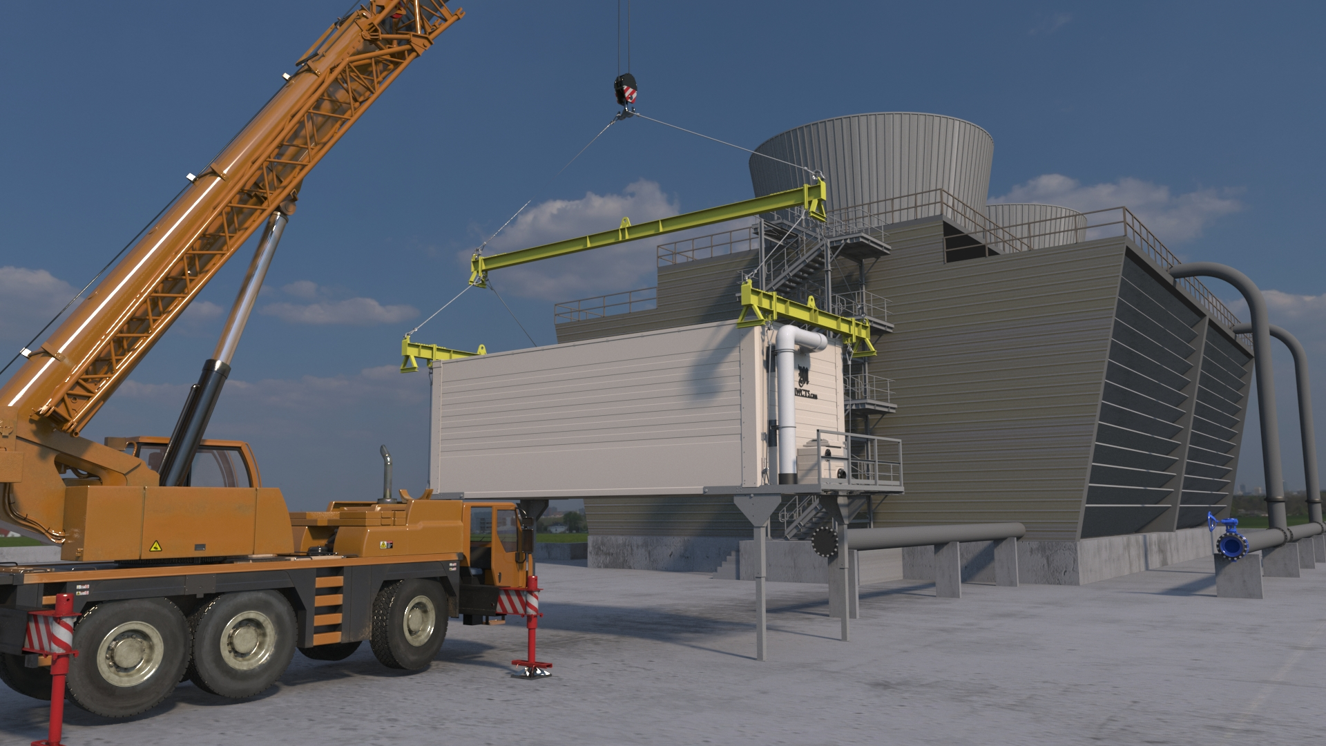 Rental Cooling Towers - Midwest Cooling Tower Services, LLC